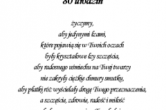tekst na urodziny 7