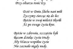 tekst na slub 3