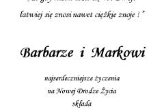 tekst na slub 7