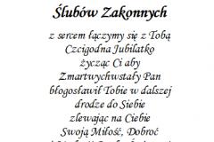 tekst rocznica, prymicje dla ksiedza 10