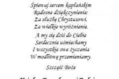 tekst rocznica, prymicje dla ksiedza 2