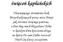 tekst rocznica, prymicje dla ksiedza 4