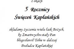 tekst rocznica, prymicje dla ksiedza 6