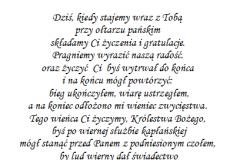 tekst rocznica, prymicje dla ksiedza 7