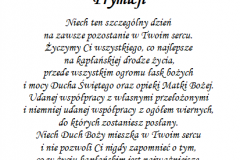 tekst rocznica, prymicje dla ksiedza 9