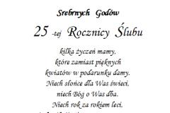 tekst na jubileusz 4