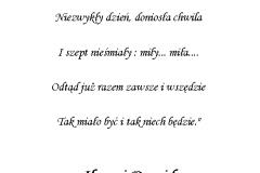 tekst na księgę gości 1