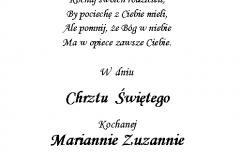 tekst na chrzest 1