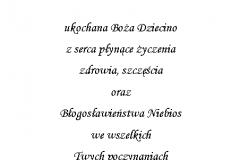 tekst na chrzest 3
