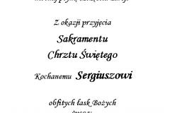tekst na chrzest 8