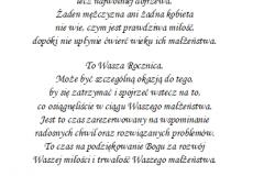 tekst na jubileusz 6