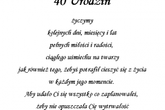 tekst na urodziny 10