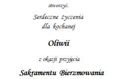 tekst na bierzmowanie 5