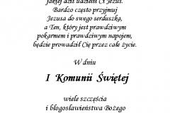 tekst na komunie 9