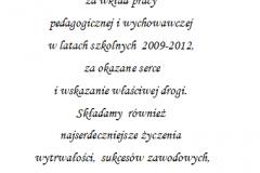 tekst na studniowke 1