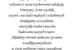 tekst na studniowke 8