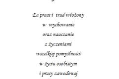 tekst na studniowke 9