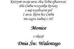 tekst na walentynki 1