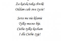 tekst na walentynki 2