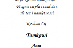 tekst na walentynki 5