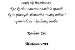 tekst na walentynki 8