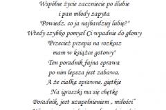 tekst na panienski 4